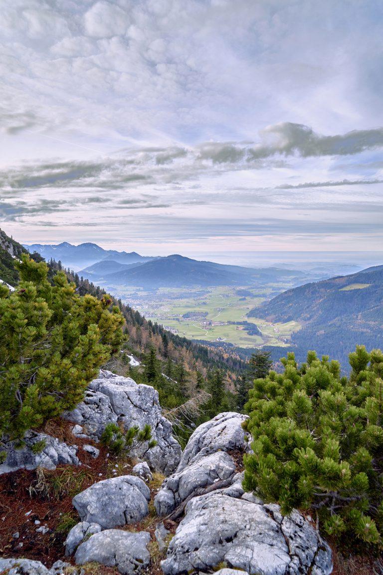 Blick vom Zwiesel nach Inzell